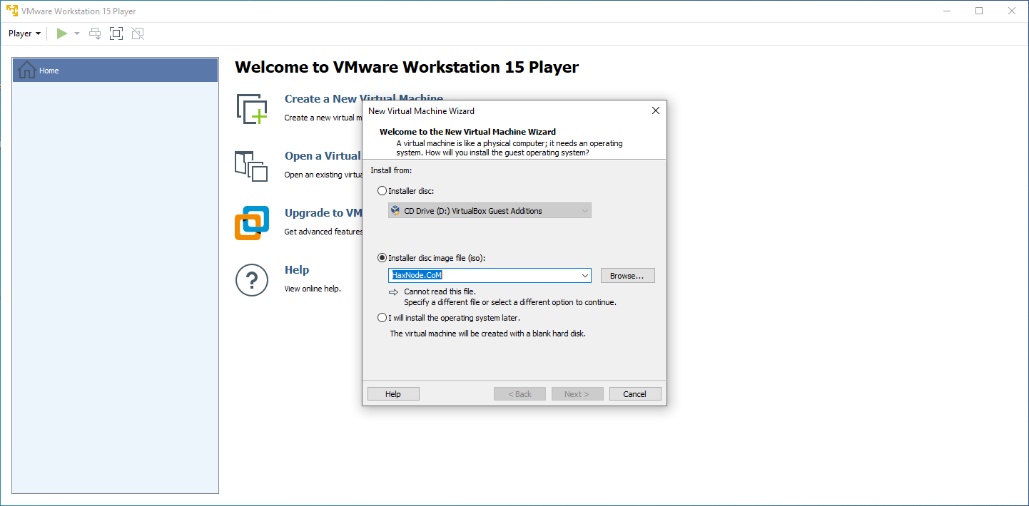vmware15player
