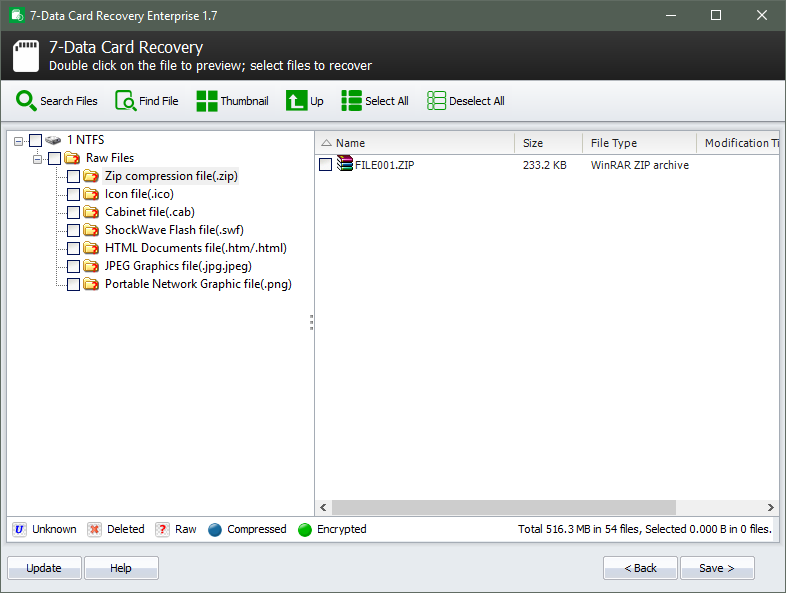 7-Data Card Recovery Enterprise