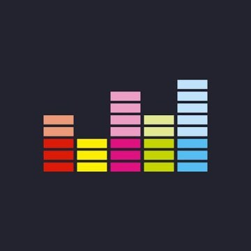 Deezer Music for Android TV logo