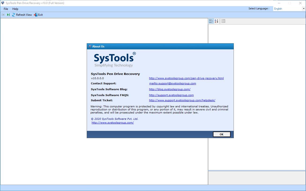 systoolspendriverecovery10.0.0
