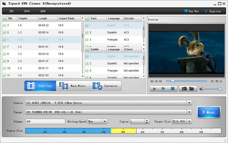 Tipard DVD Cloner1