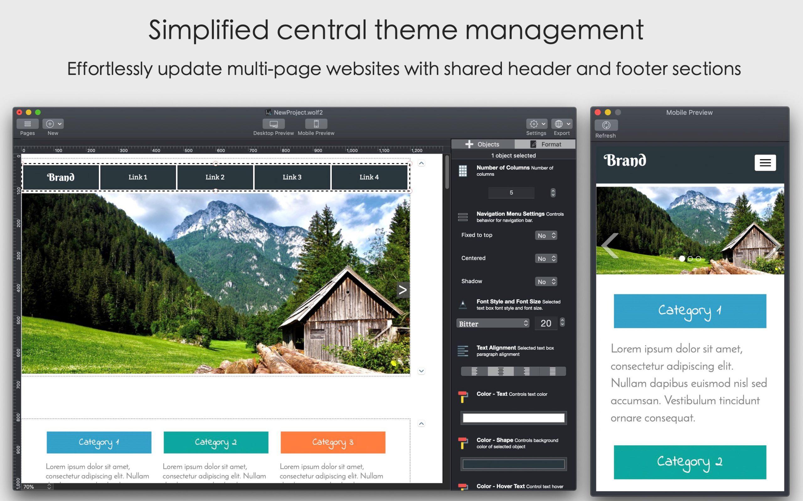 Wolf 2 - Responsive Designer Pro