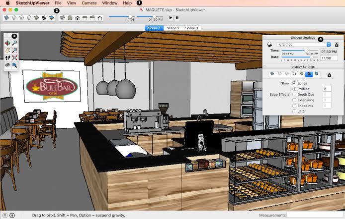 SketchUp Pro mac1