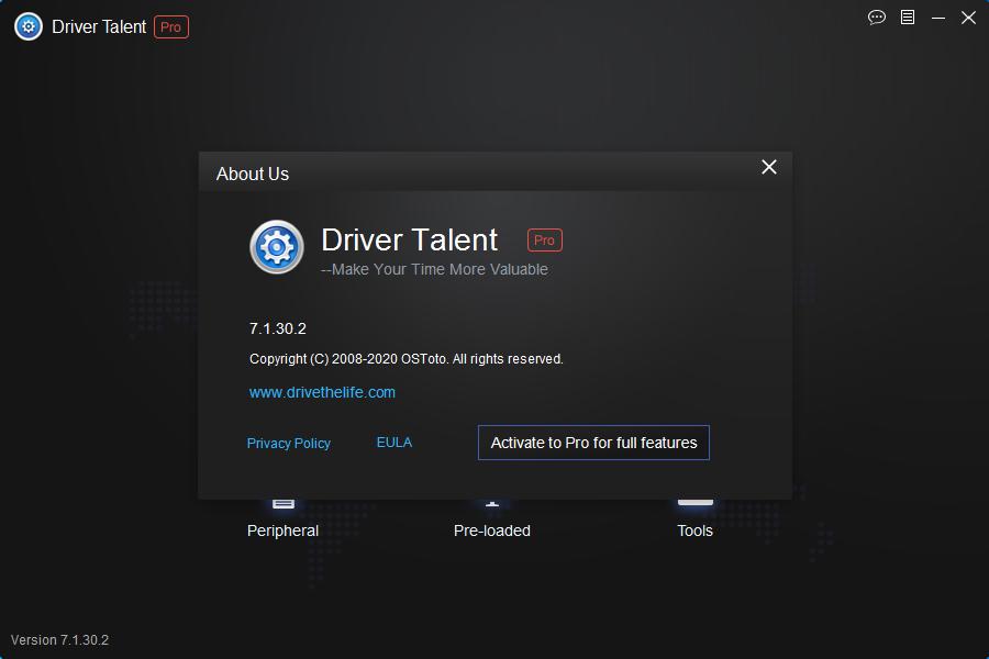 drivertalentpro7.1.30.0