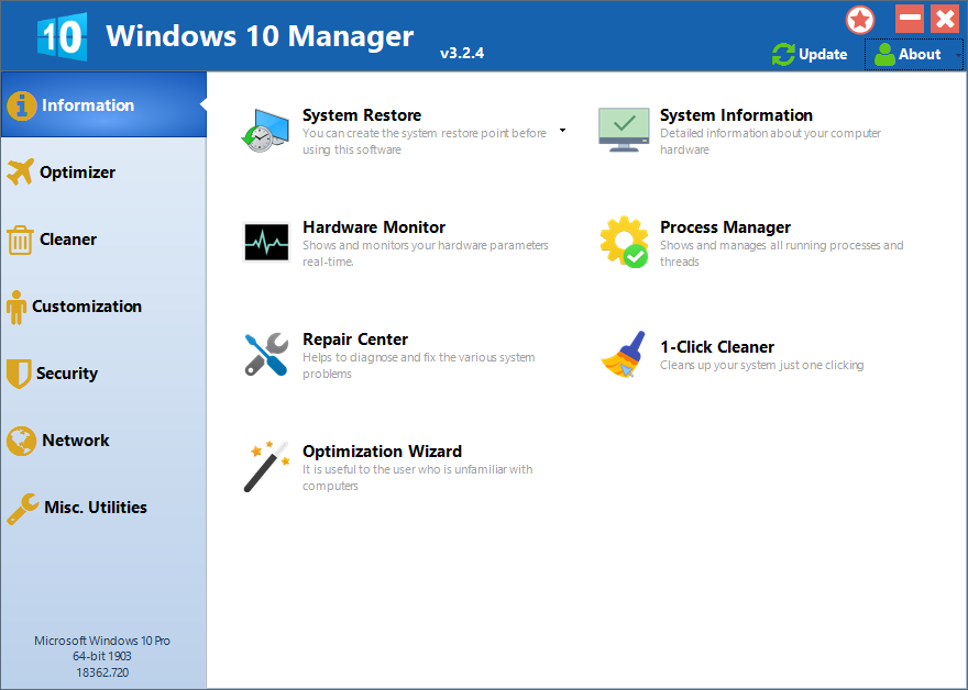 windows10manager3.2.4