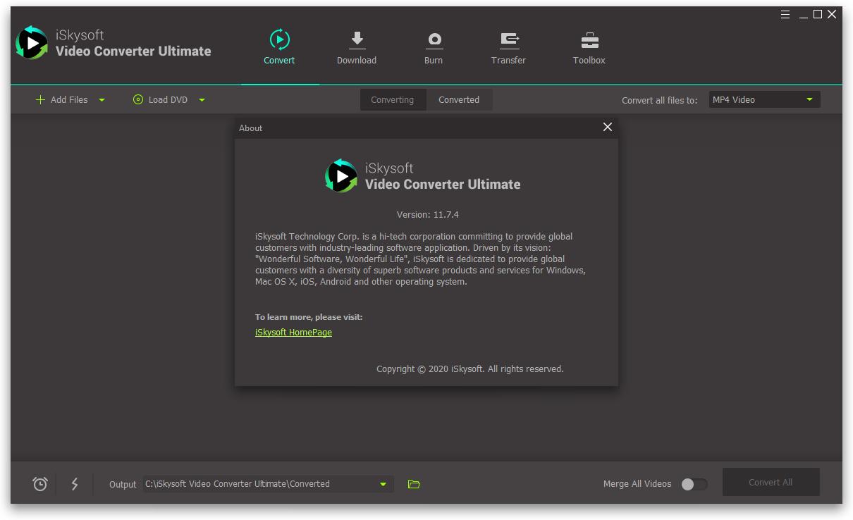 iskysoftvideoconverter11.7.4