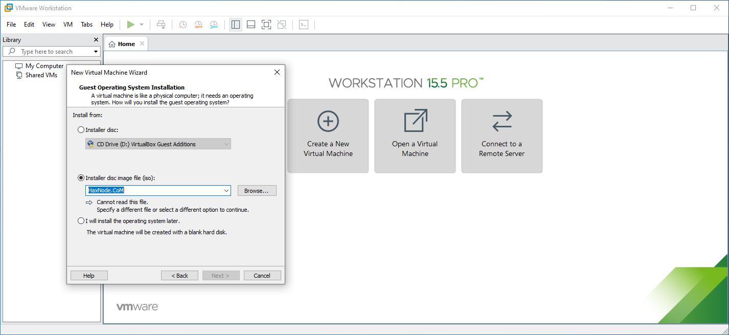 vmwareworkstation15.5pro