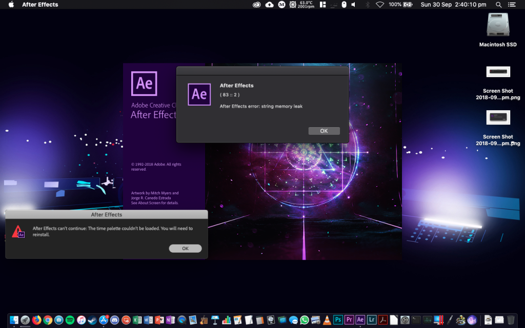 Adobe After Effects mac1