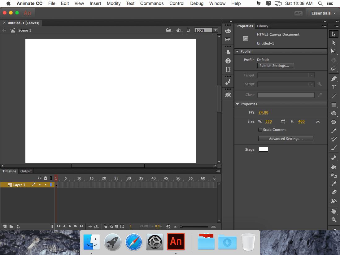 Adobe Animate mac