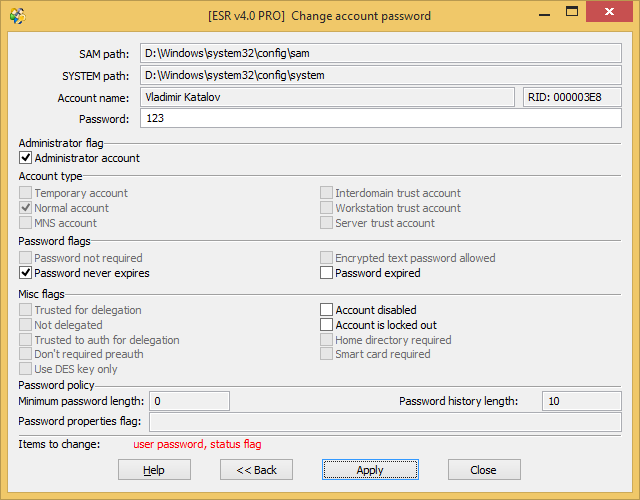 Elcomsoft System Recovery Professional Edition1