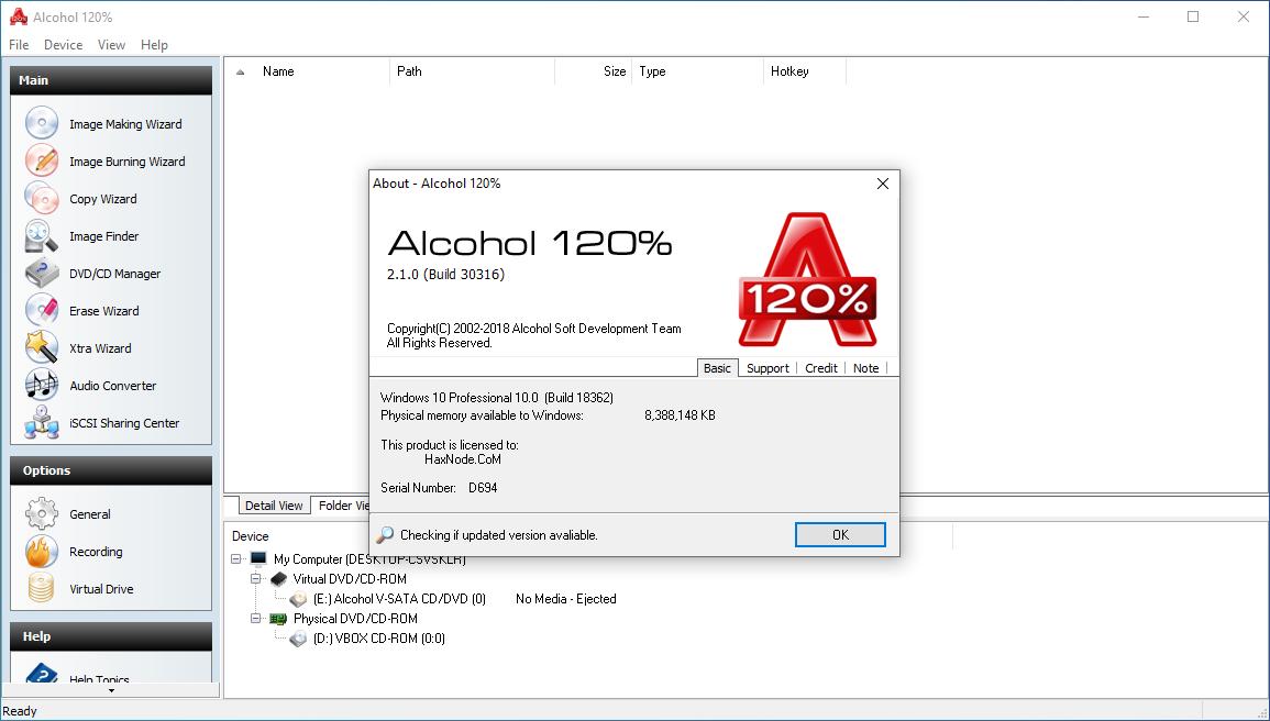 alcohol120v2.1.0