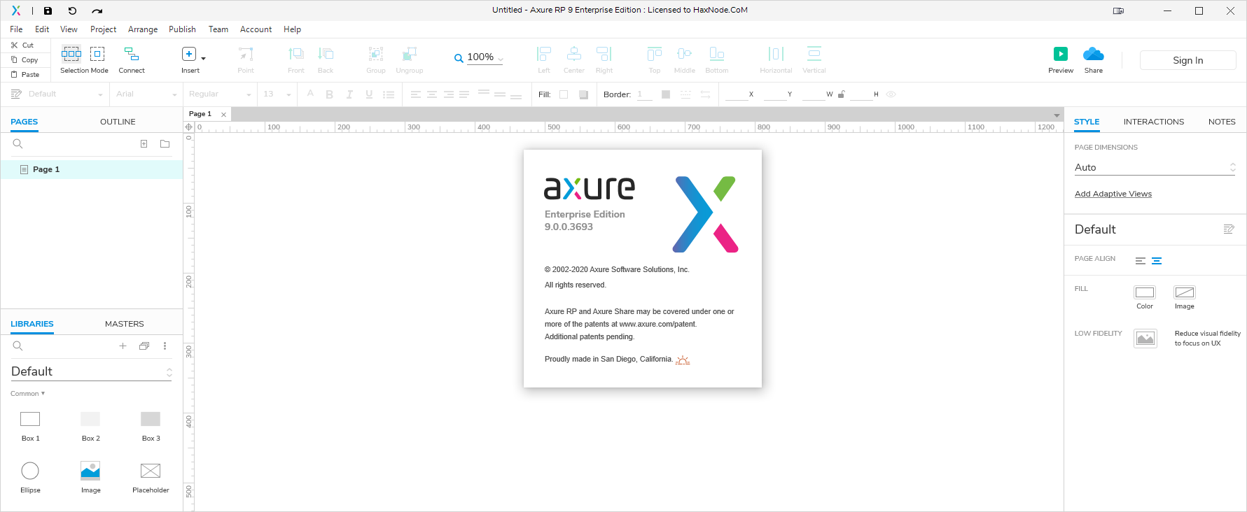 axure9.3693
