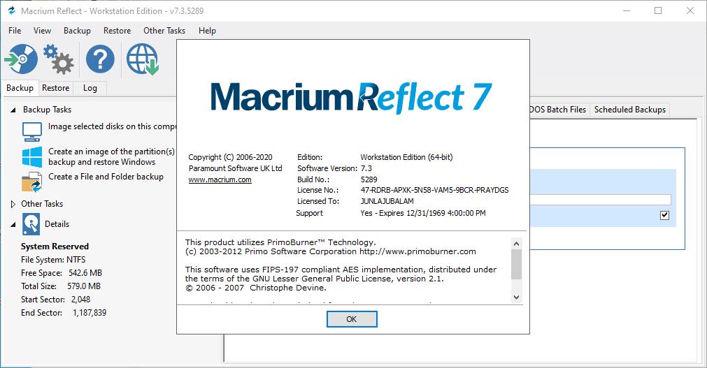 macrium7.3