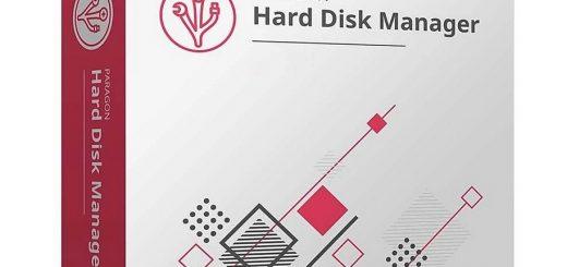 Paragon Hard Disk Manager1