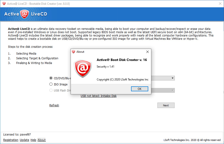 activelivecd8.0.0
