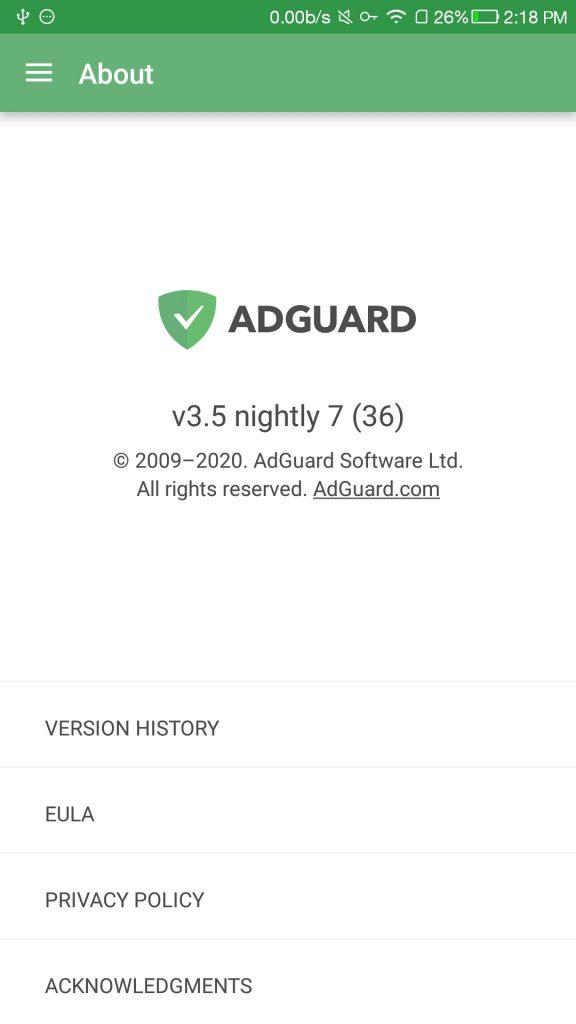 adguard3.5.7