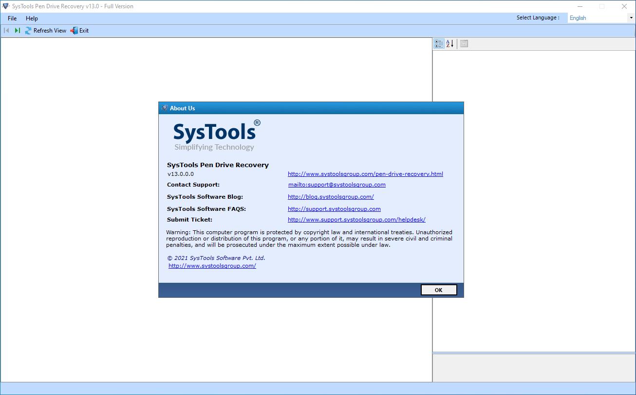 systoolspendriverecovery13.0