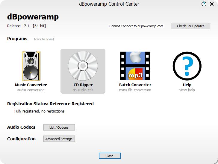 dbpoweramp17.1