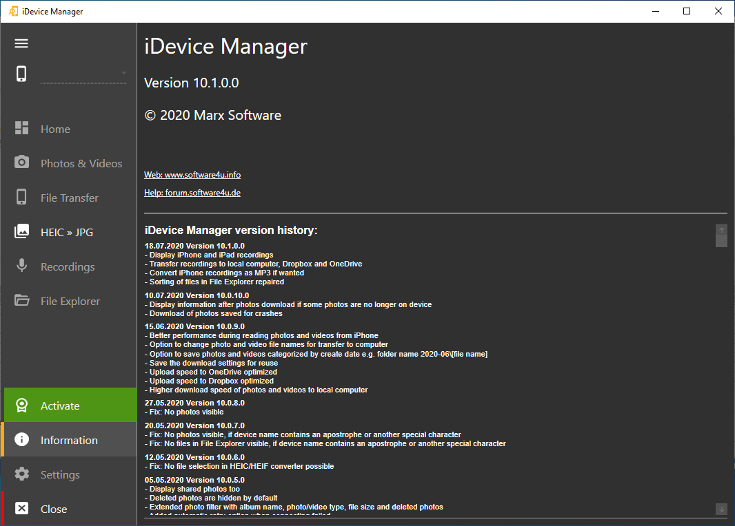 idevicemanager10.1.0.0