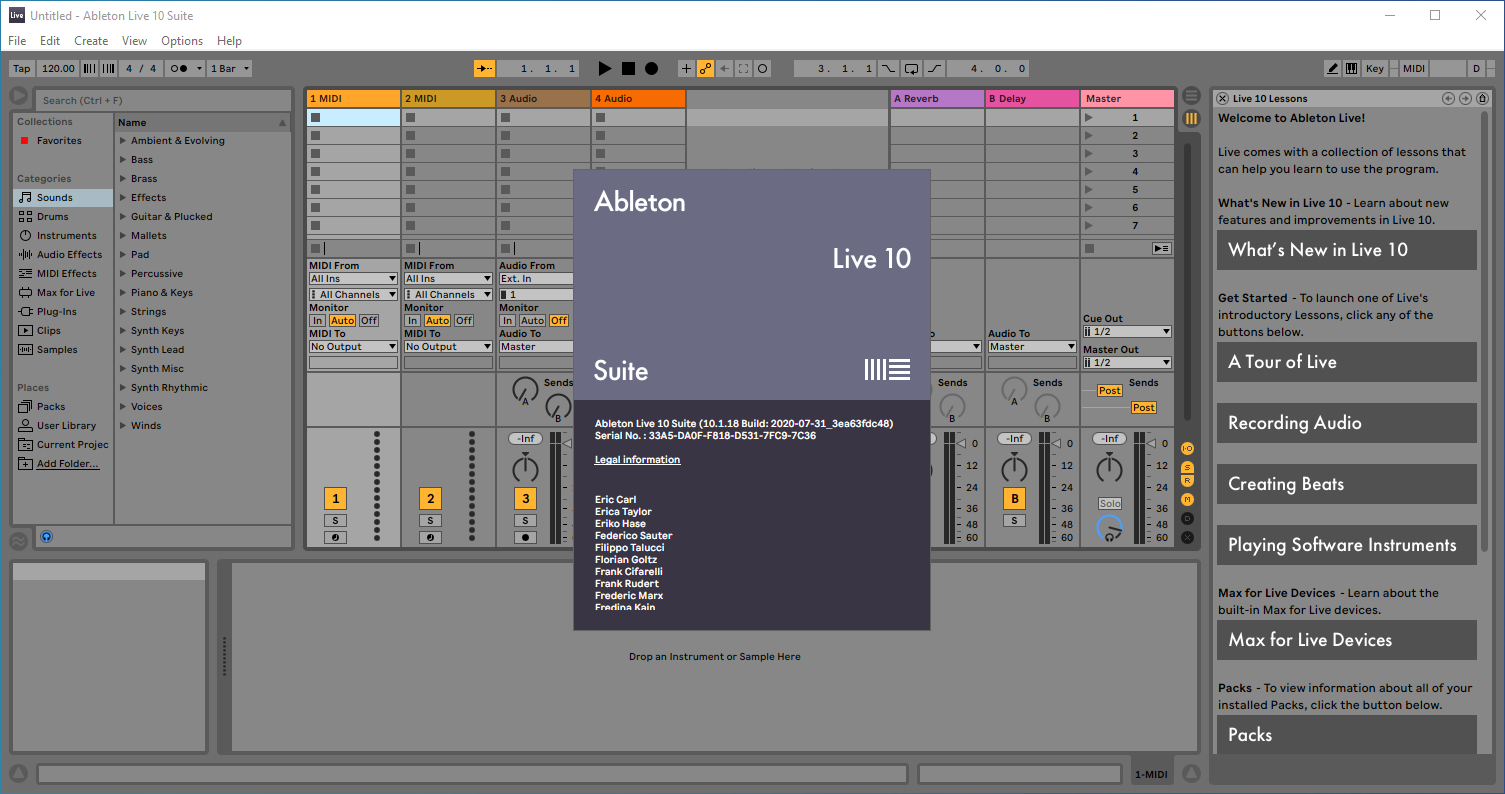 ableton live 10 suite crack windows