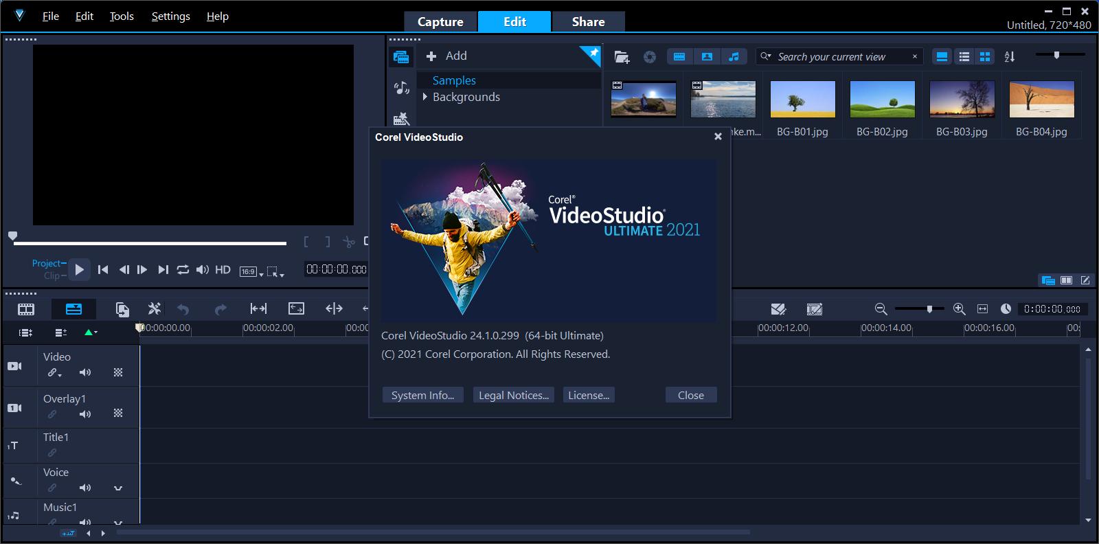 Corel VideoStudio Ultimate 2021 v24.1.0.299 + Crack   haxNode