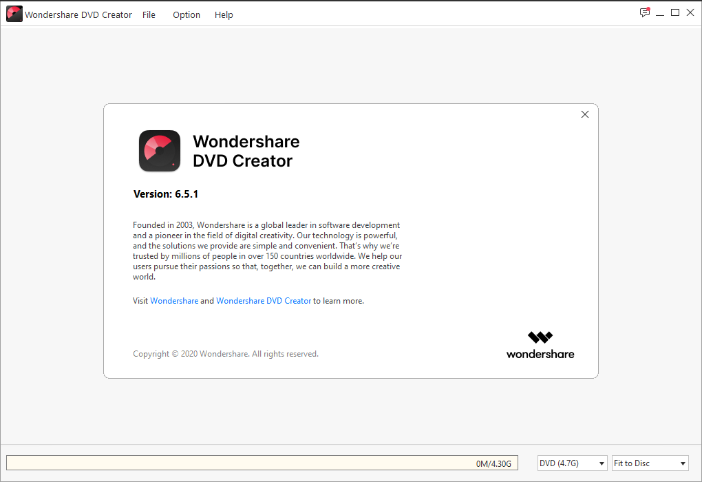 wondersharedvdcreator6.5.1