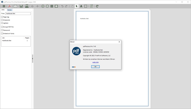 pdffactorypro7.45