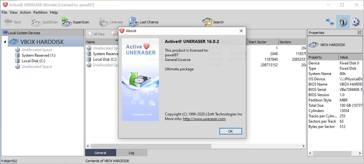 uneraser16.0.2