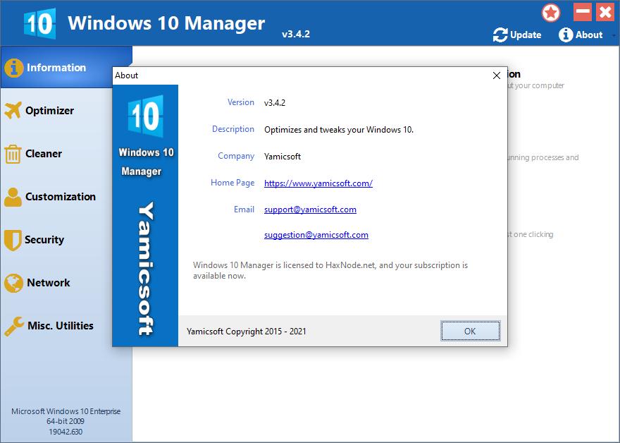 yamicsoftw10manager3.4.2