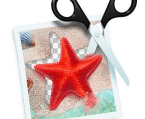 PhotoScissors logo