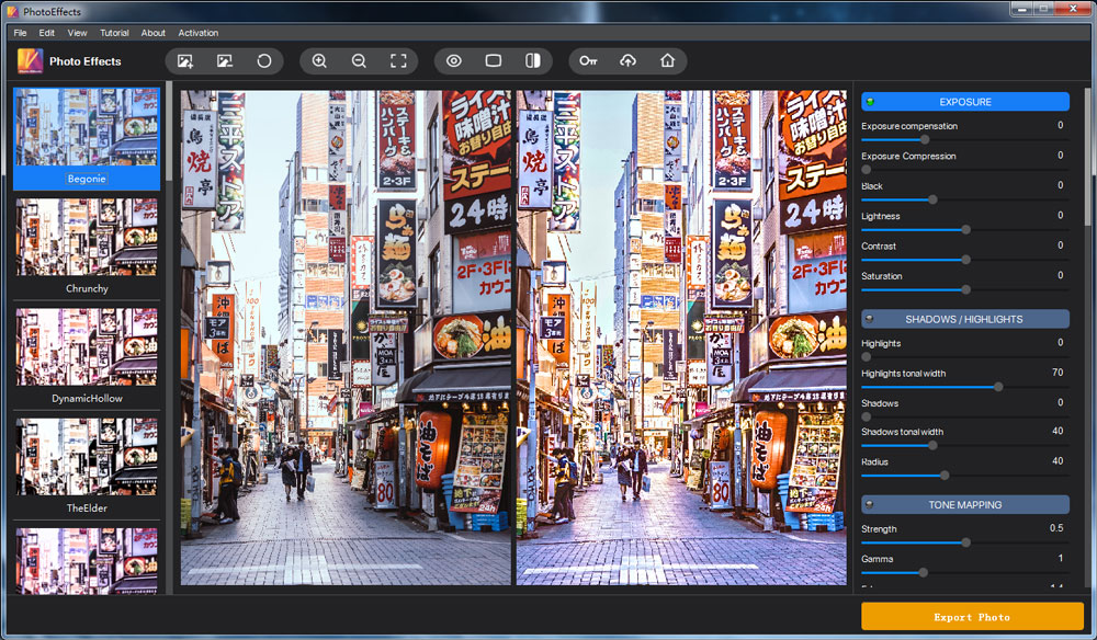 Vertexshare Photo Effects1
